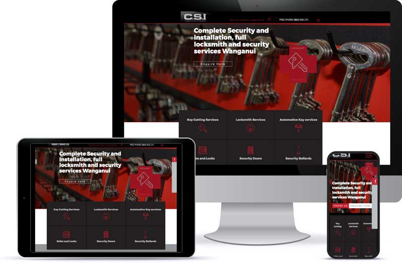 responsive screen CSI