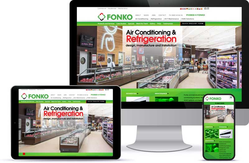 responsive screen fonko